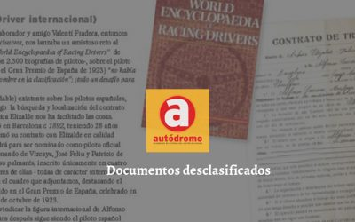 Documentos desclasificados (Revista Autódromo)