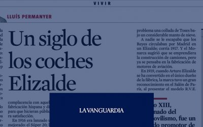 Un siglo de los coches Elizalde (La Vanguardia)
